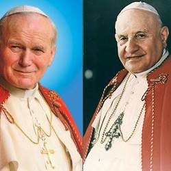 canonisation popes