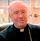 "Click on photo to hear Bishop Egan of Portsmouth reading his Christmas pastoral letter in which he refers to the challenge of climate change and the Holy Family as ""refugees"" ..."