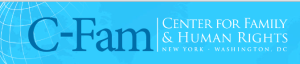 C-Fam Centre For family and human rights logo